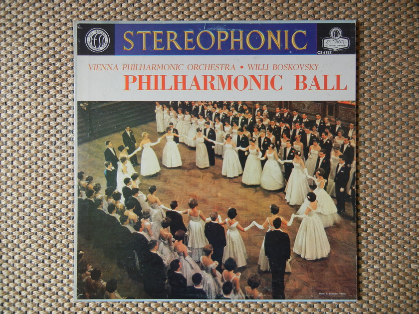 Strauss - Philharmonic Ball First Pressing London FFSS CS 6182 Blue Back