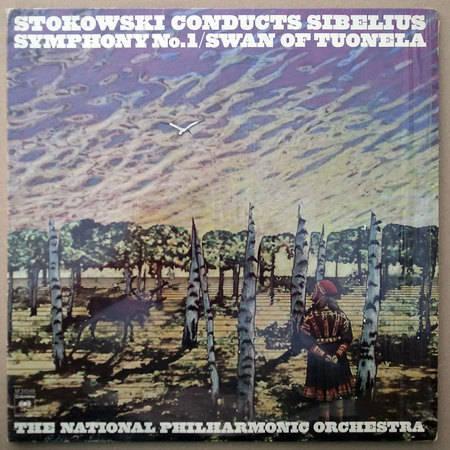 COLUMBIA/Stokowski/SIBELIUS - Symphony No. 1, Swan of Tuonela / NM