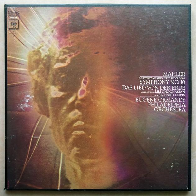 COLUMBIA/Ormandy/MAHLER - Symphony No. 10, Das Lied von der Erde / 3-LP / NM