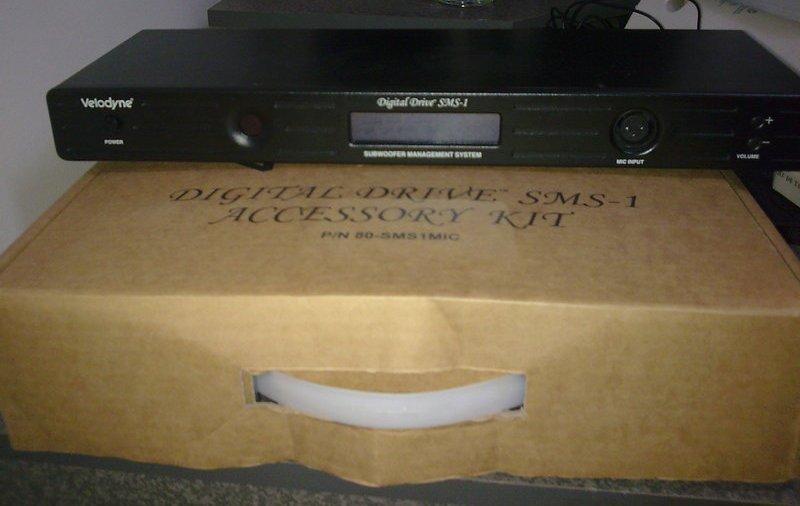 Velodyne SMS-1 Mic, manual, remote, case included!!