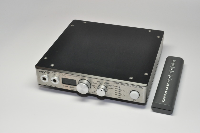 Grace Design M902 Headphone Amp & DAC with Remore