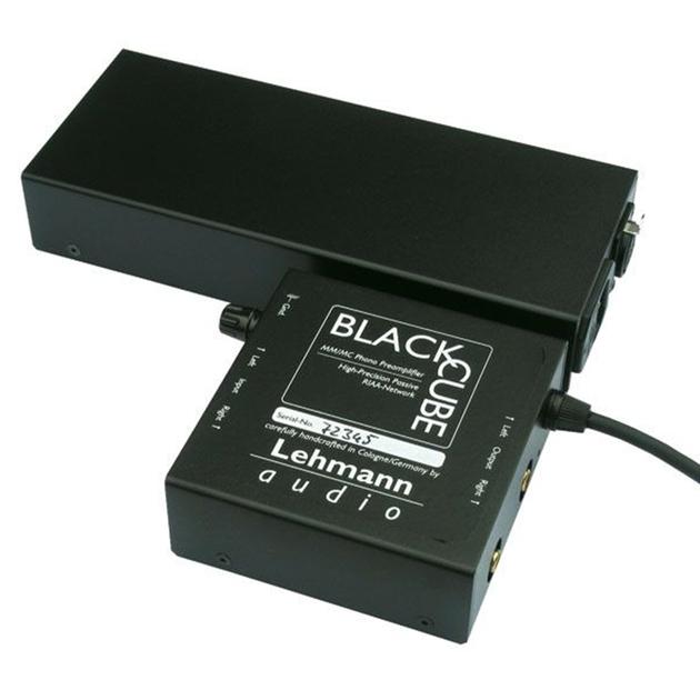 LEHMANN BLACK CUBE SE PHONO PREAMP W/PWX AC SUPPLY