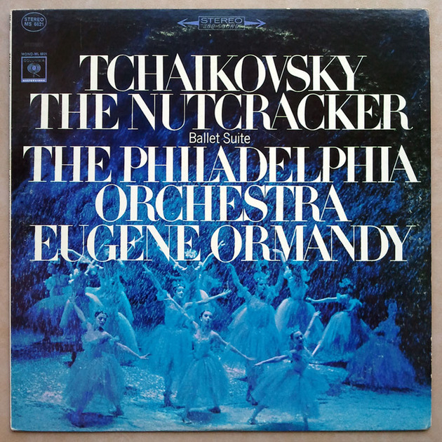 COLUMBIA 2-EYE/Ormandy/TCHAIKOVSKY - The Nutcracker Ballet Suite / EX
