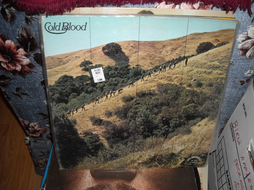 Cold Blood - Sisyphus San Francisco  LP (c)