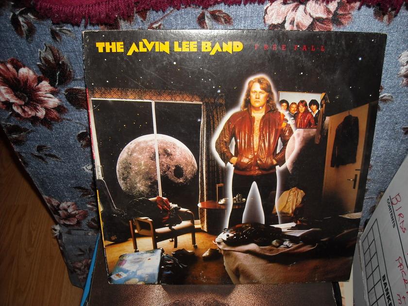 Alvin Lee Band -  Free Fall Atlantic  LP (c)