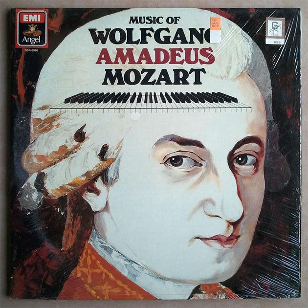 EMI/Music of Amadeus MOZART - / 2-LP / NM