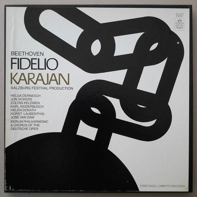 ANGEL/Karajan/BEETHOVEN - Fidelio / 3-LP / NM