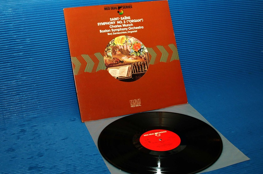"ST-SAENS/Munch -  - ""Symphony 3 'Organ'"" -  RCA .5 Series 1981 Audiophile"