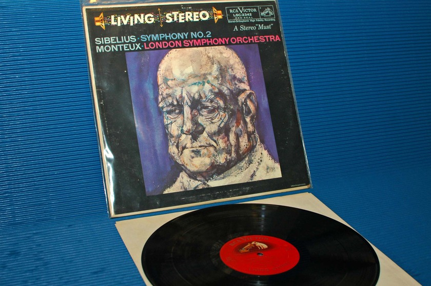 "SIBELIUS/Monteux -  - ""Symphony No. 2"" -  RCA 'Shaded Dog' 1959 TAS list"
