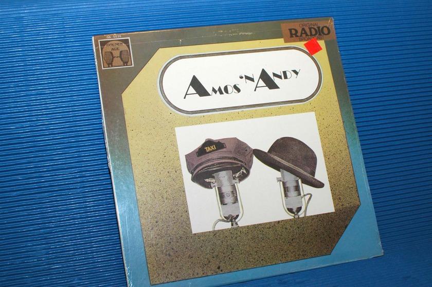 "AMOS 'N ANDY -  - ""Original Radio Broadcasts"" -  Golden Age Records 1981"
