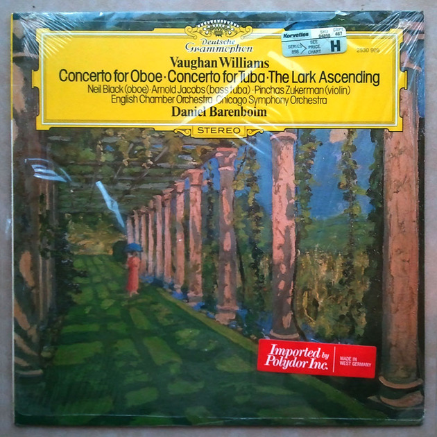 SEALED DG | BARENBOIM/VAUGHAN WILLIAMS - Oboe Concerto, Tuba Concerto, The Lark Ascending