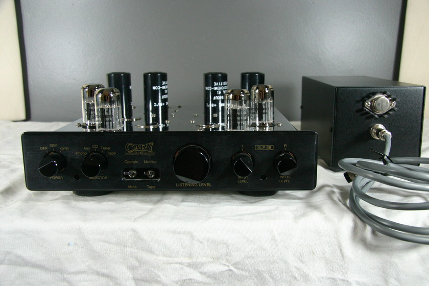 Cary Audio Designs SLP 98 Great Chrome