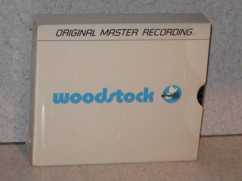 "Mint MFSL - ""Woodstock 4 CD Box Set"" Rare & Out of Print"