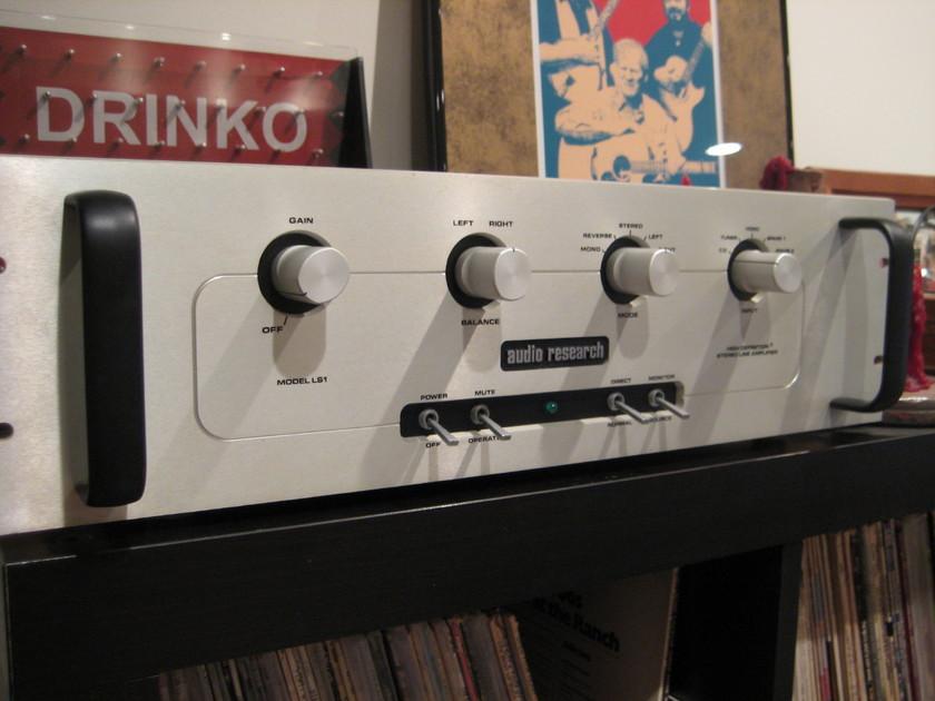 Audio Research LS-1 w/ good Amperex 6dj8