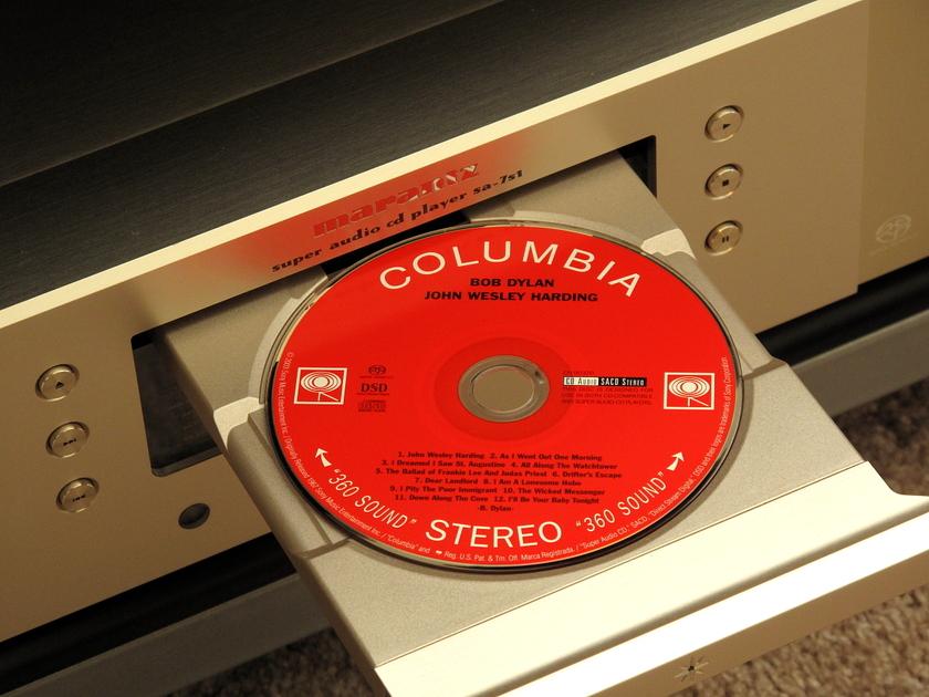 Marantz SA-7S1 CD / SACD Player RAM Mods, Ultraclock, Transformer Output, more!