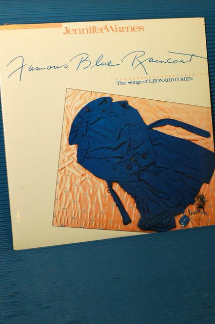 "JENNIFER WARNES -  - ""Famous Blue Raincoat"" -  Cypress 1986 SEALED TAS list"