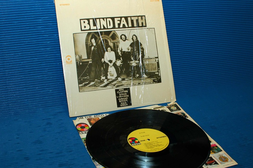 "BLIND FAITH -   - ""Same Title"" - ATCO 1969 1st pressing side 1 hot stamper"