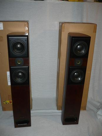 Acoustic Zen Adagio Speakers Walnut and Wonderful