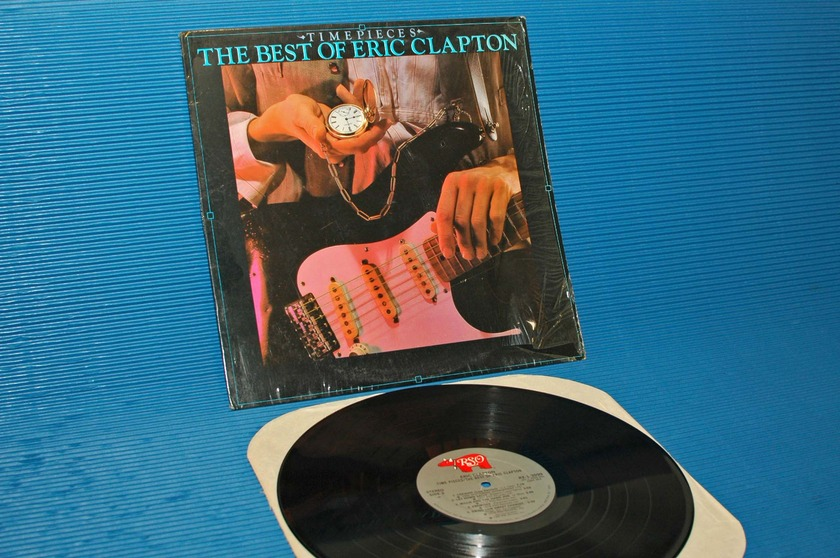 "ERIC CLAPTON -  - ""Timepieces"" -  RSO 1982"
