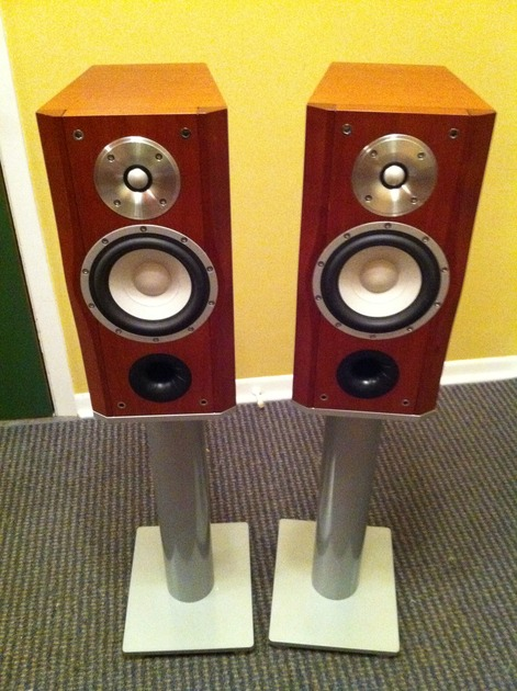 Esoteric MG-10 Monitors with stands