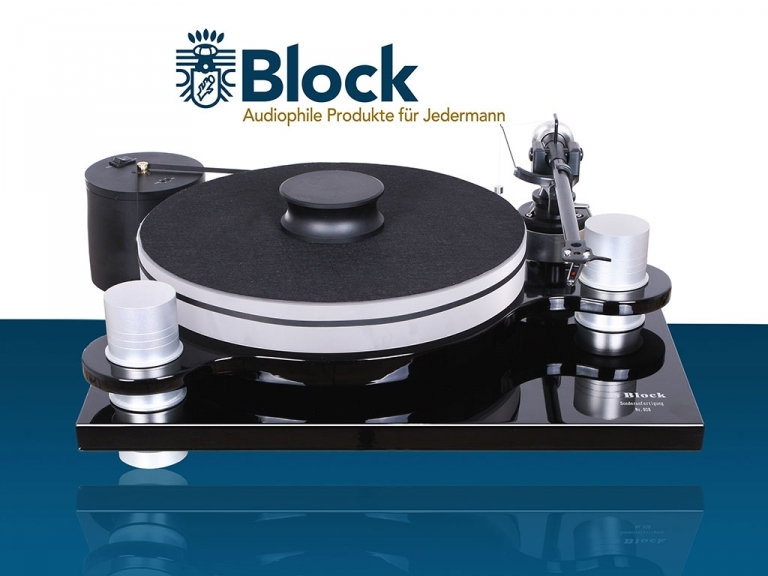AUDIOBLOCK GERMANY PS-100 TURNTABLE AWARD WINNING