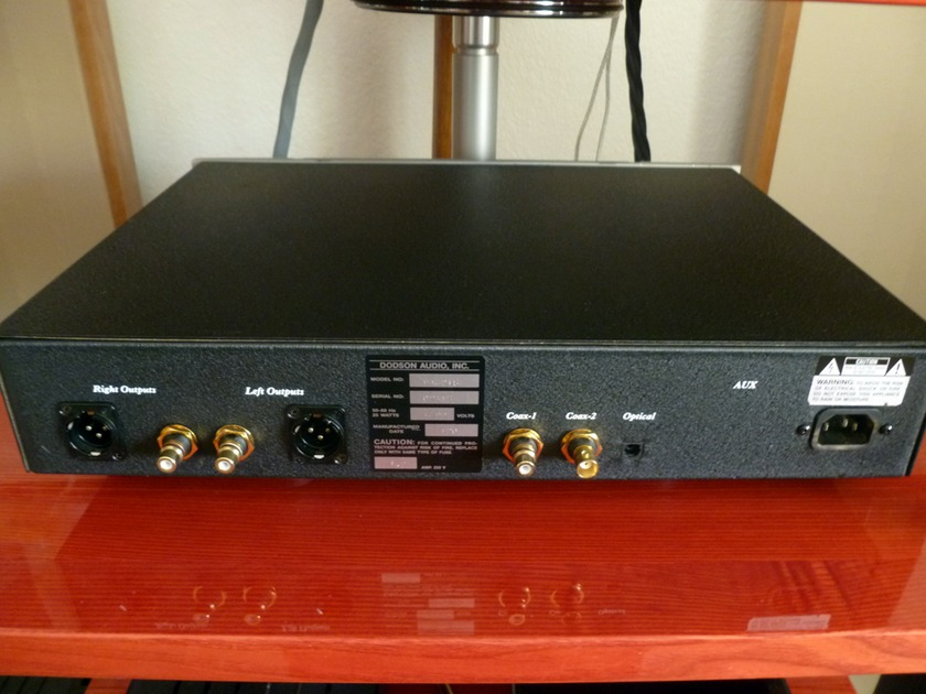 Dodson Audio DA-218 Cryogenic 24/768 DAC trade-in, great condition