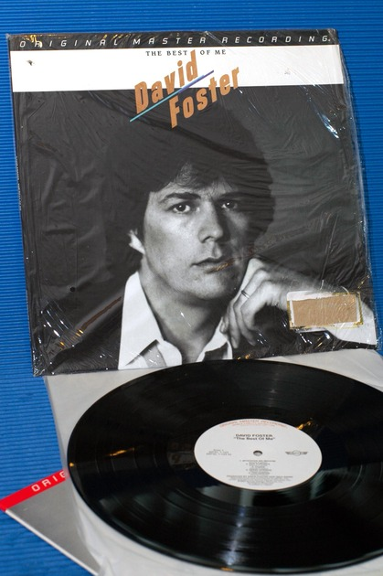 """DAVID FOSTER -  - """"The Best Of Me"""" -  Mobile Fidelity/MFSL Promo 1982"""