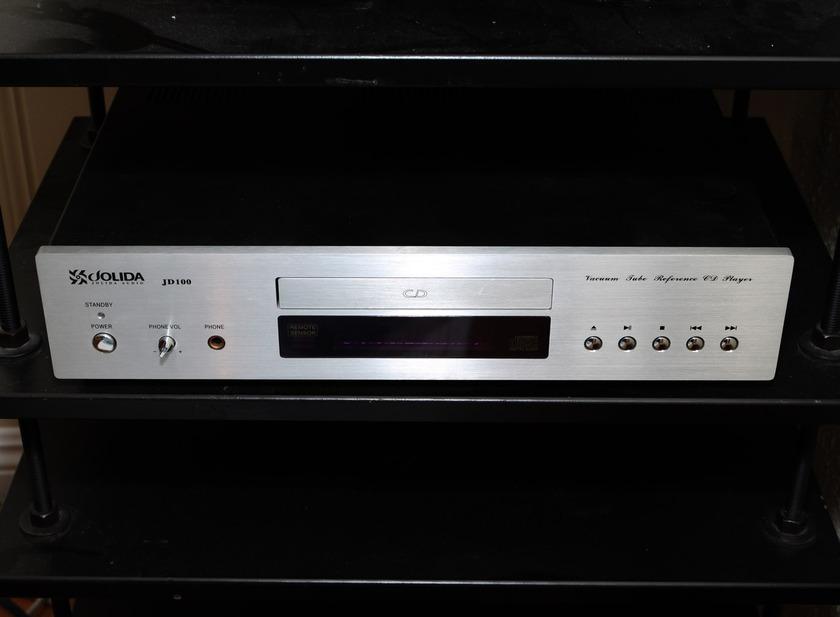 Jolida JD100 (JD-100) modded Tube CD player