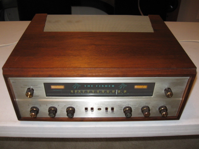 FISHER 500C RECEIVER (1964) ORIGINAL WEST GERMANY & AMERICAN LABELED FISHER TUBES