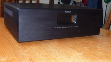 Sunfire Load Invariant Hi Fidelity Stereo Power AMplifier