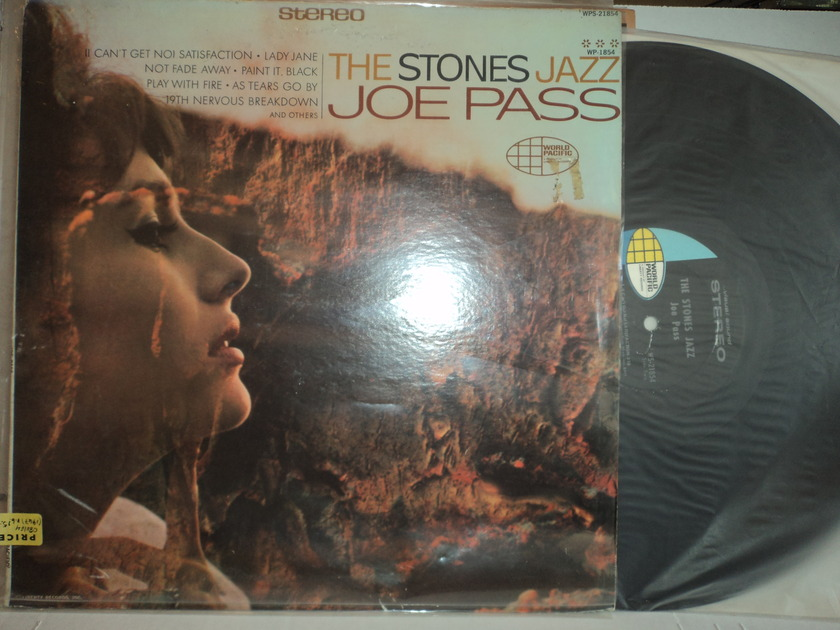 "Joe Pass  - The Stones Jazz ""Music of the Rolling Stones""  1967 World Pacific Records"
