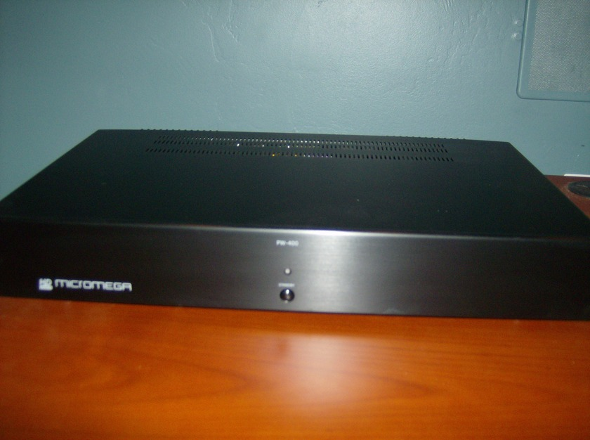 Micromega PW400 Great powerful amplifier
