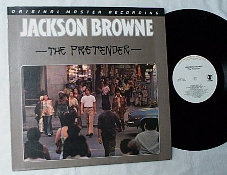 Jackson Browne LP-The pretender- - MFSL album-mint vinyl-made in Japan