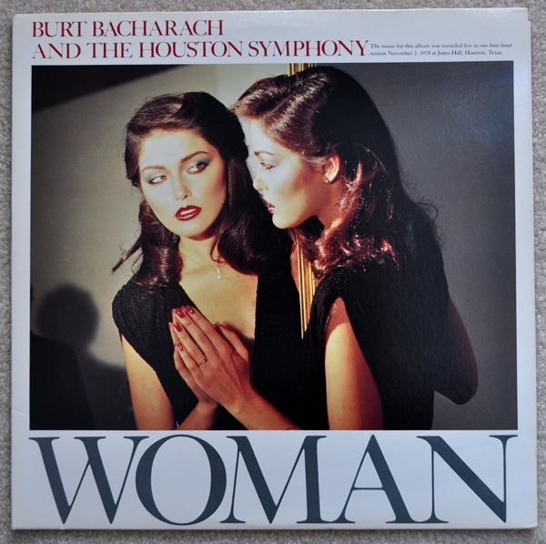 "Burt Bacharach - ""Woman"" lp...SEALED OOP on vinyl"