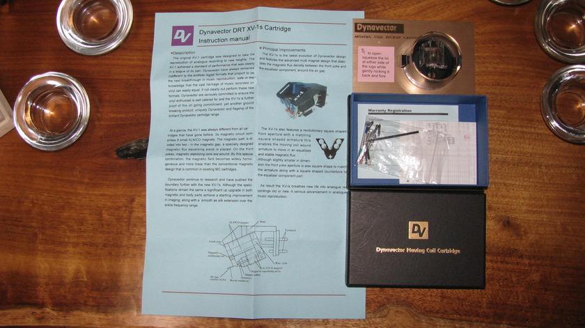 DYNAVECTOR DRT XV-1s MC Cartridge