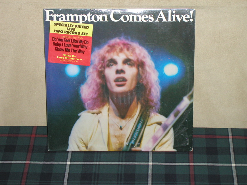 Peter Frampton - Frampton Comes Alive  Still SEALED  A&M SP-3703 w/sticker