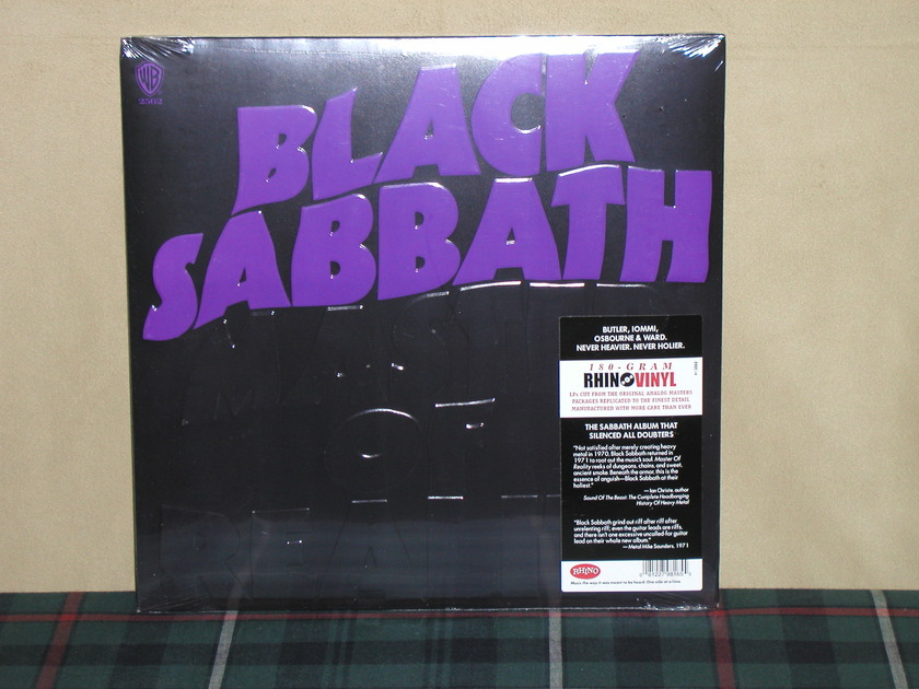 Black Sabbath  - Master Of Reality 180g SEALED Warner/RTI