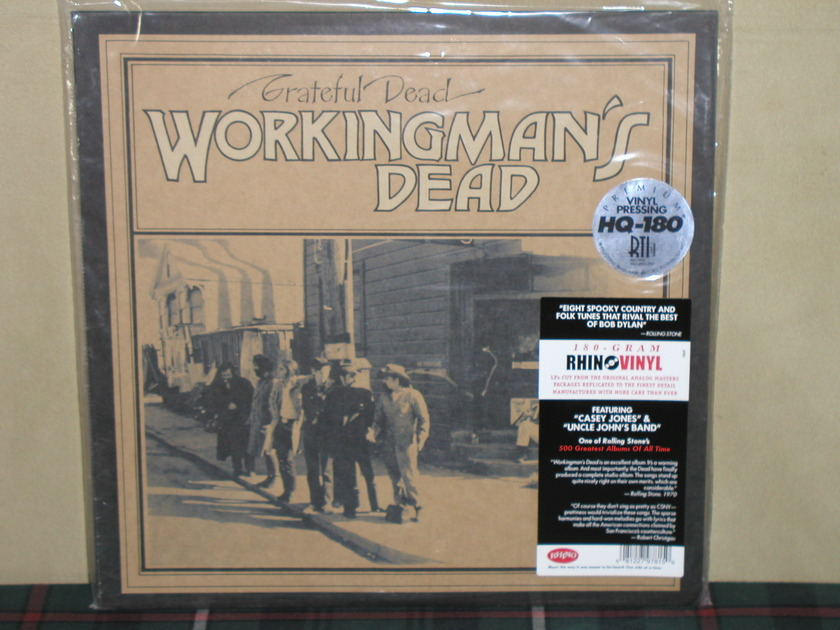 Grateful Dead - Workingman's Dead 180g SEALED.Warner/RTI