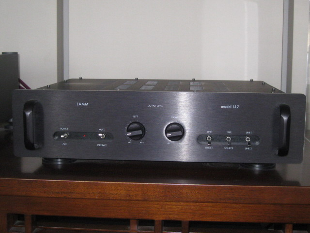 Lamm LL2 Deluxe Tube Preamp - linestage only