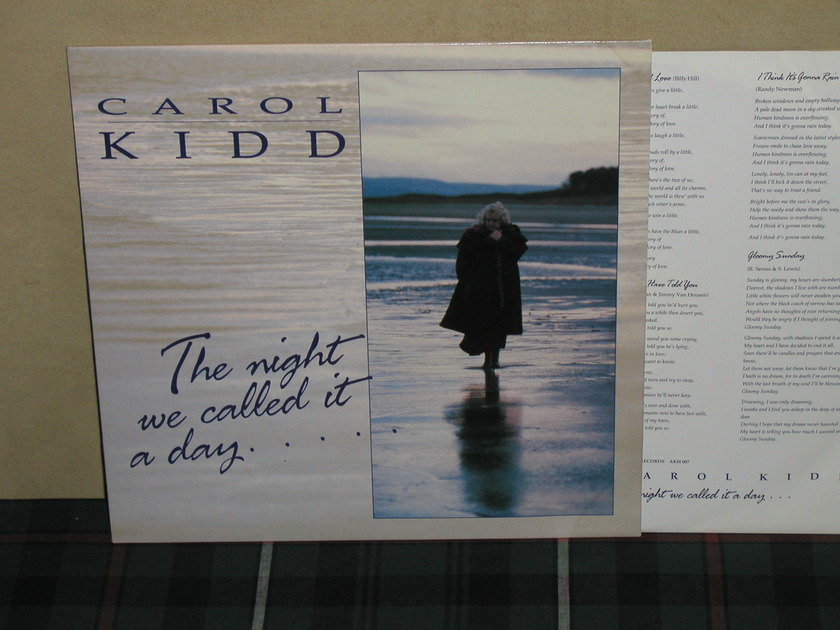 Carole Kidd   The Night We  - Called It A Day UK Import Linn AKH 007