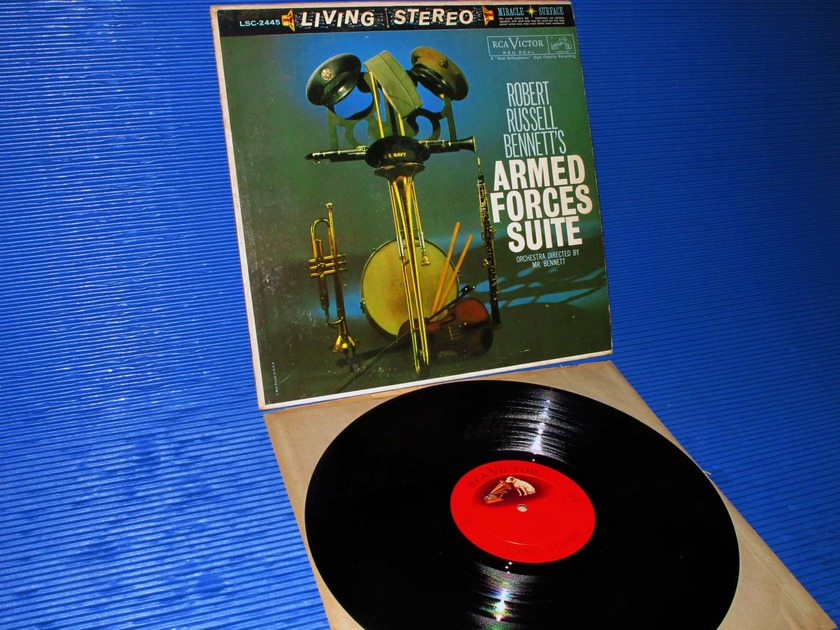 "BENNETT/Bennett - - ""Armed Forces Suite"" - RCA 'Shaded Dog' 1960 Promo 1st pressing"