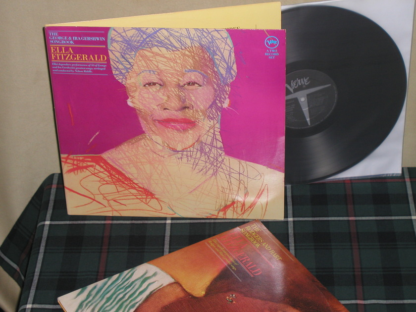"Ella Fitzgerald  ""George/Ira Gershwin - +Rodgers/Hart Songbooks 2 Double album sets"