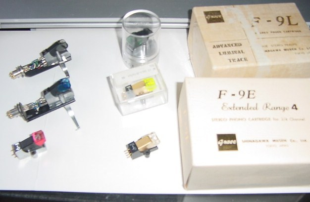 Grace F-9E cartridge rare extended range type complete  with all boxes 2/4 channels