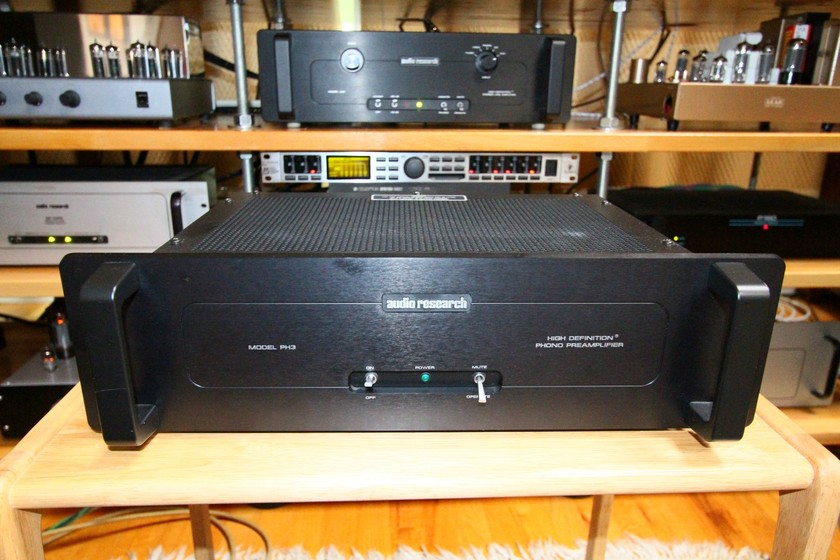 Audio Research PH3 modded by Parts Connexion Should be > PH3 SE