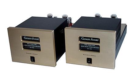 Canary CA330 Black Mono Block 300B Amplifier Pair