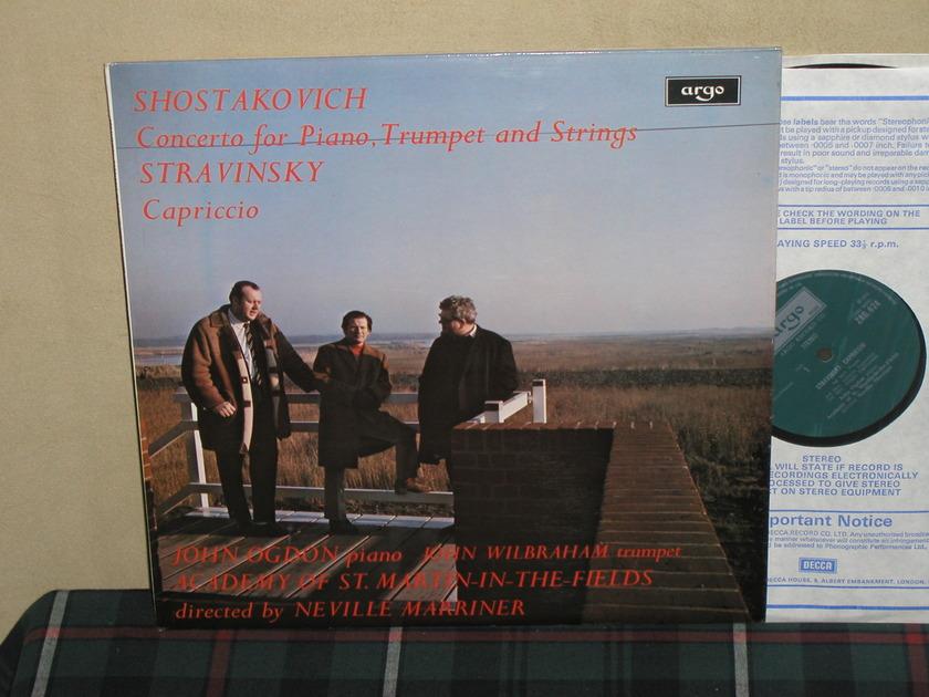 Marriner/AoStMitF - Shostakovich Concerto UK Argo/Decca ZRG-674