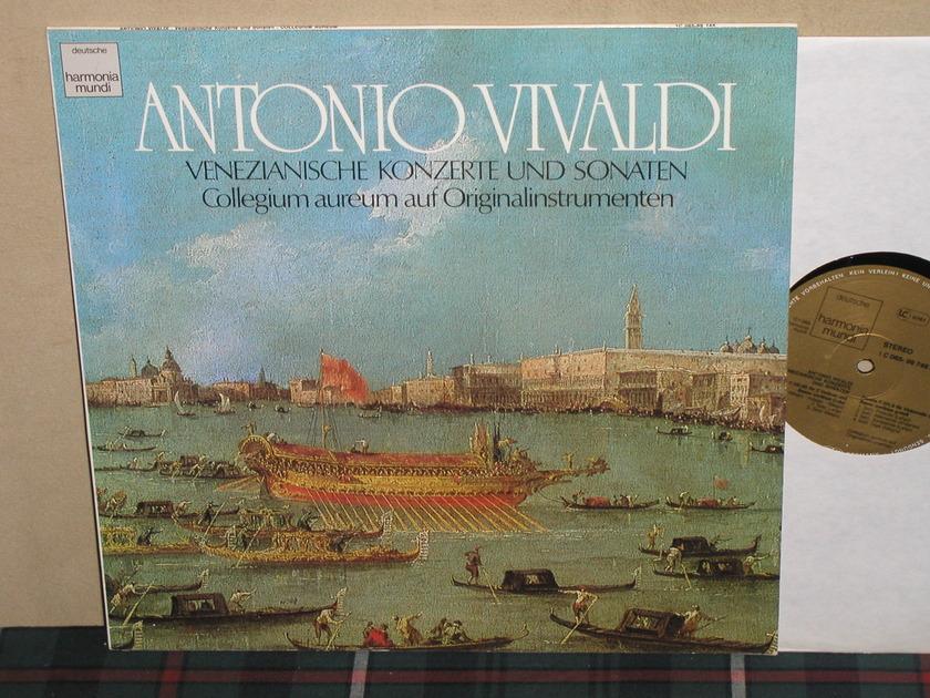 Collegium Aureum - Vivaldi Cto For Violin/Violincello GERMAN Harmonia Mundi
