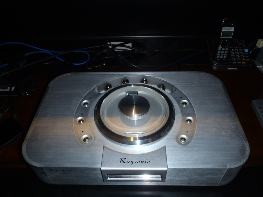 Raysonic  CD-128 modified  L-1 modified tube CD player