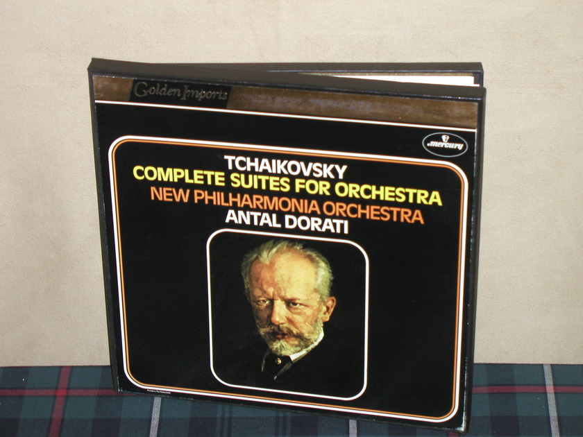 Dorati/NPO  Tchaikovsky - Complete Suites For Orchestra 3LP Mercury Golden Imports Box