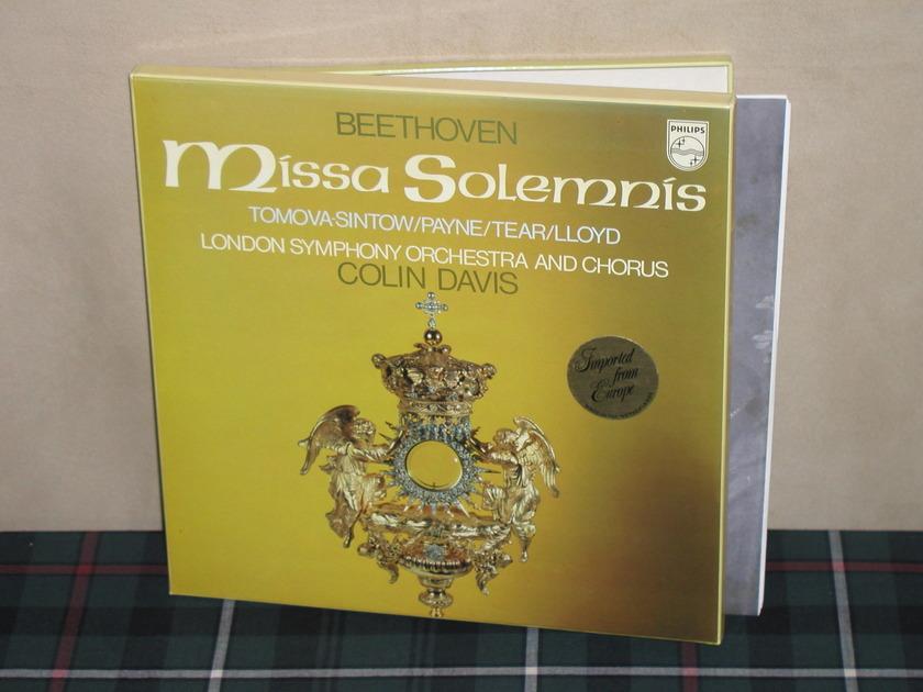 Davis/LSO&C - Beethoven Missa Solemnis Philips Import pressing 6747 2LP